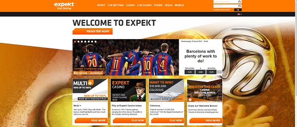 Expekt Bookmaker review
