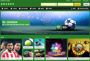 Unibet Sportsbook Screenshot
